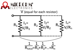 How to Calculate the Equivalent Resistance Value for Resistors in Circuit?